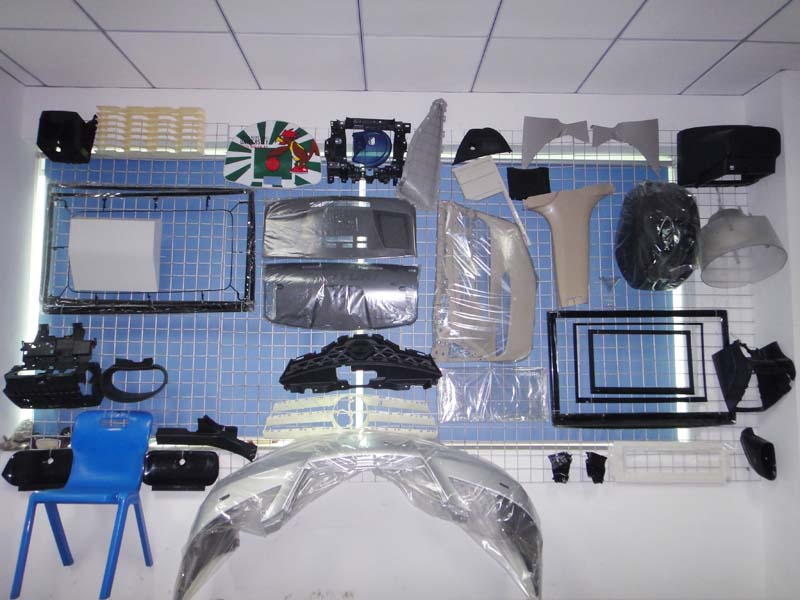 Equipment plastic products